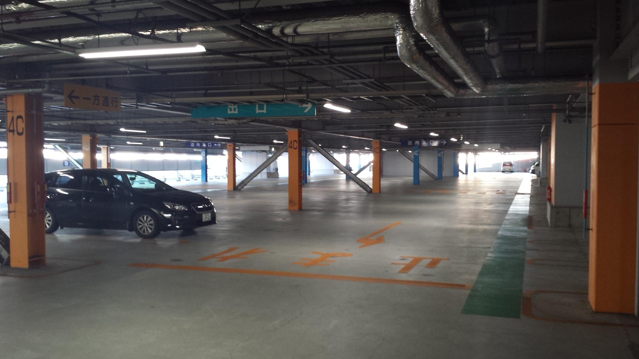 メッツ大曽根立体駐車場<!--ナゴヤドーム-->
