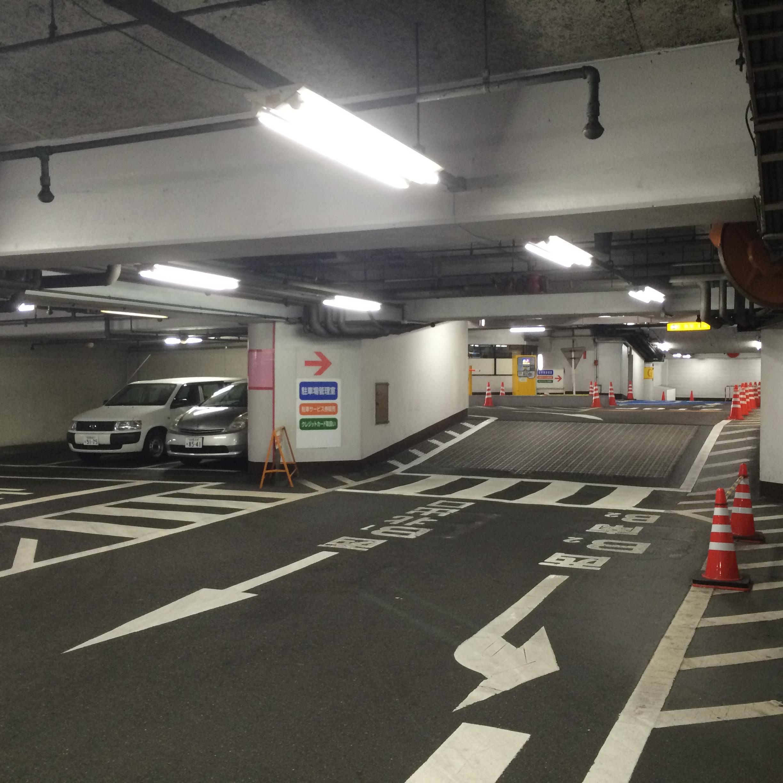 セントラルパーク駐車場