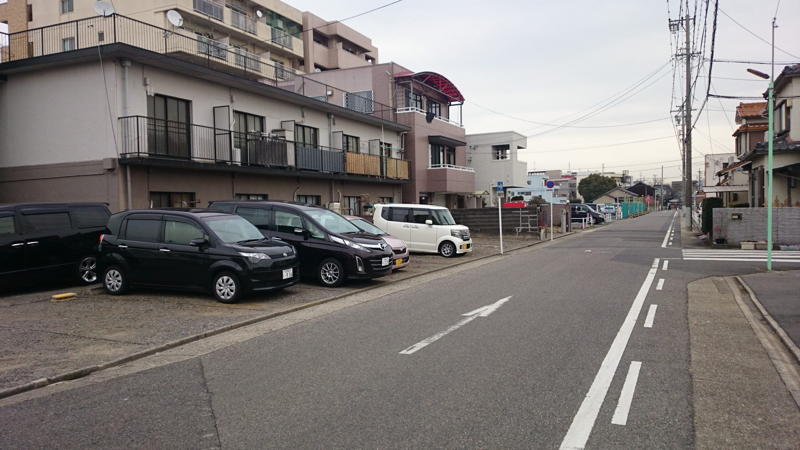 豊公マンション駐車場