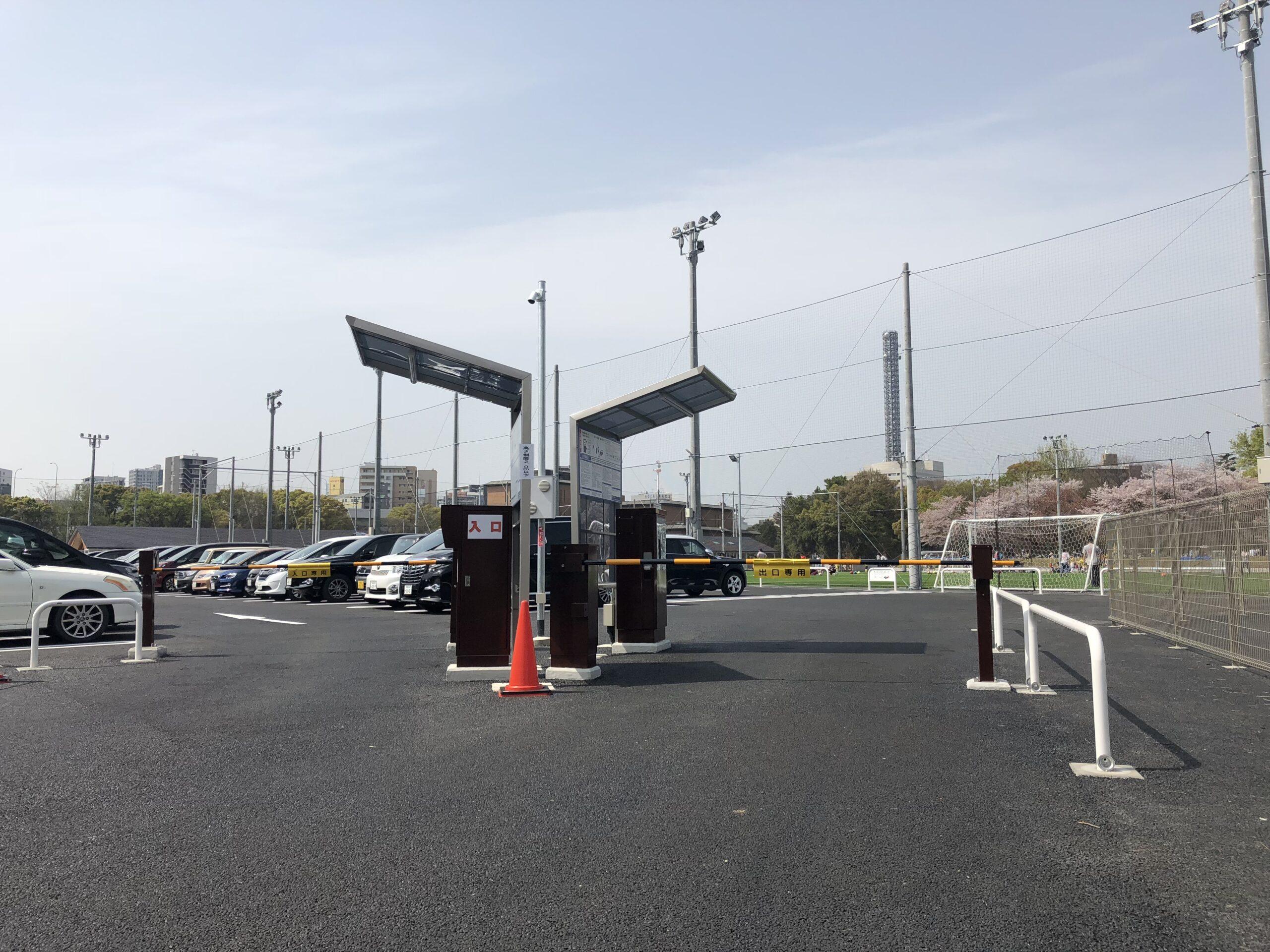 鶴舞公園南駐車場
