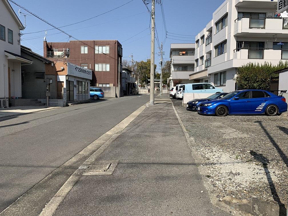 神前町第一駐車場